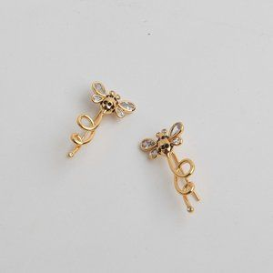 Kate Spade Simple Bee Diamond Earrings